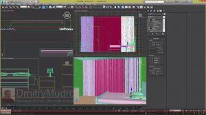 Как сделать шторы в 3d max